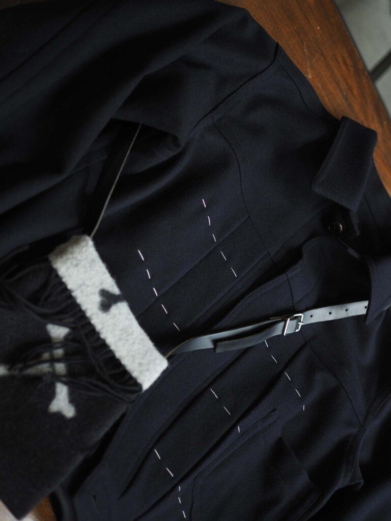 emsou. / Big tuck trucker jacket / 77,000 yen taxincluded