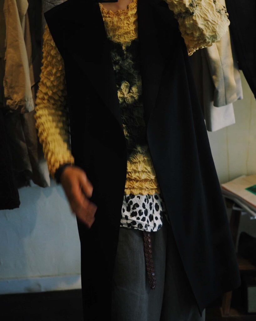 Gabriela Coll Garments / Sleeveless Coat / 92,400 yen tax included